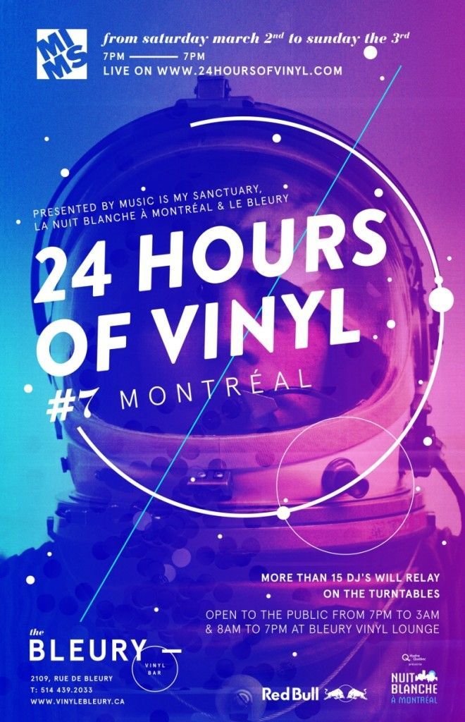 24 Hours of Vinyl #7 : Montreal Nuit Blanche