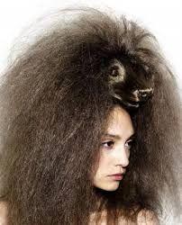 Resultado de imagem para penteados estranhos