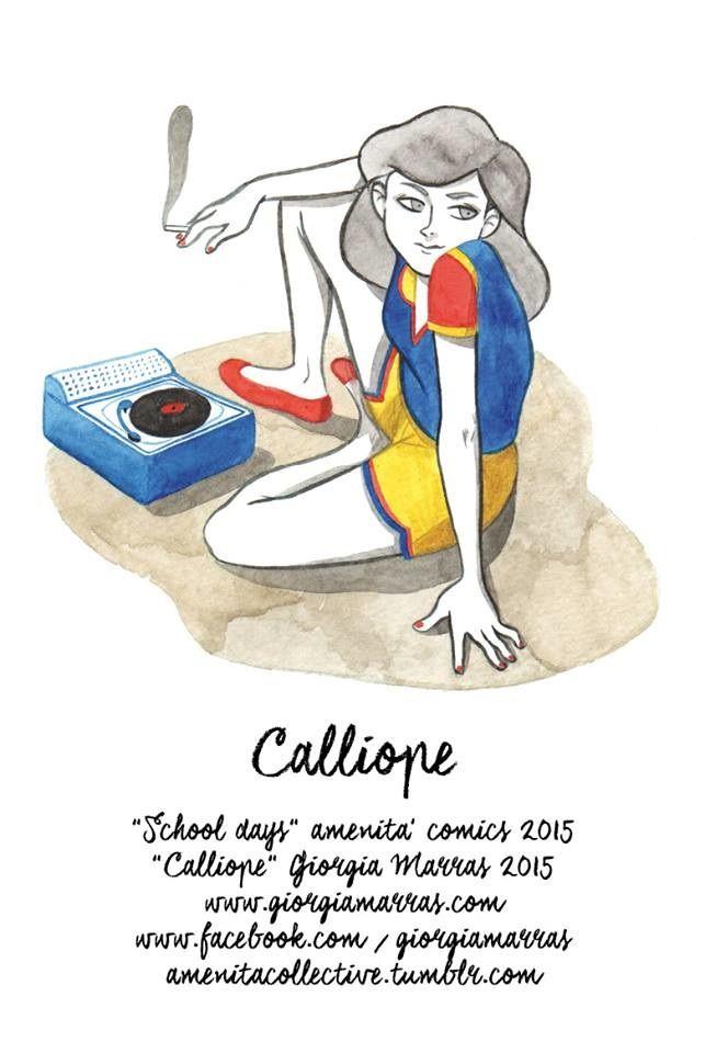 Comics - School Days - Amenità - giorgiamarras www.giorgiamarras.com
