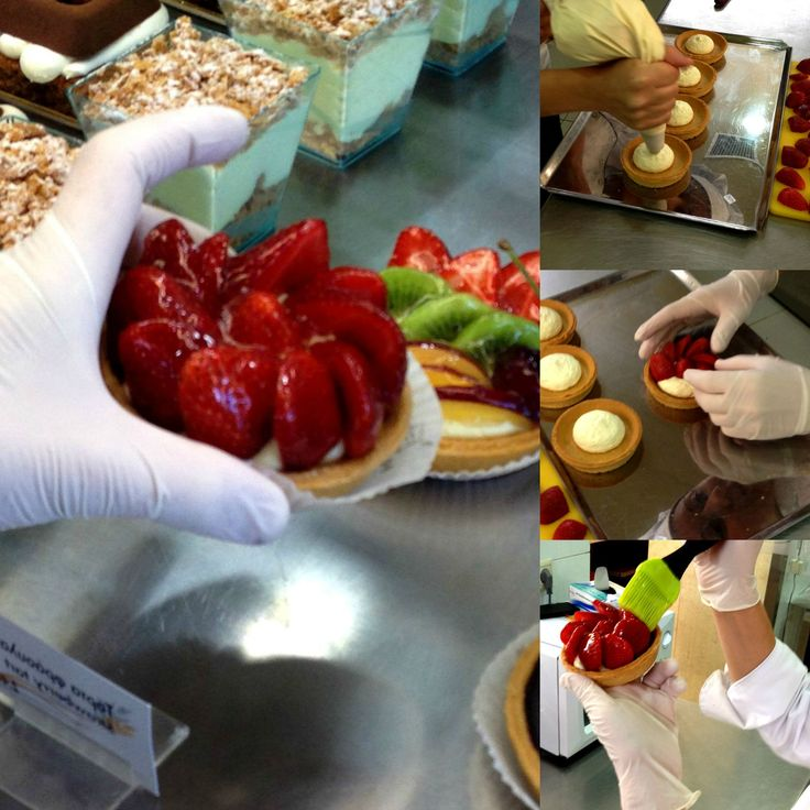The art of a strawberry tart