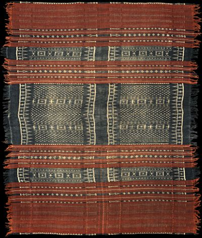 Selimut (blanket) - Cotton Ikat from Nage Keo, Flores, Indonesia