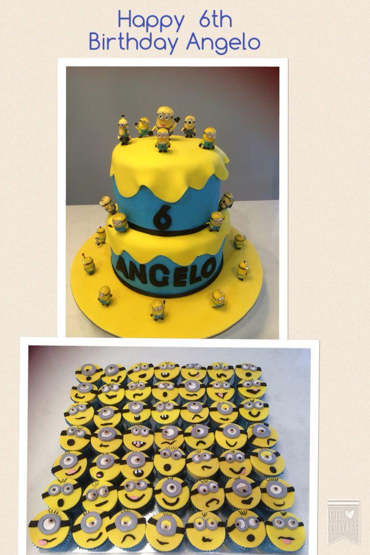 #minioncake #minioncakes