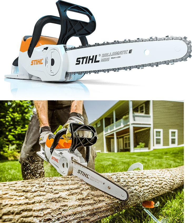 Chainsaws 42226: !! New !! Stihl Msa120c 36 Volt Cordless Electric Chainsaw W Charger And Battery -> BUY IT NOW ONLY: $239.95 on eBay!