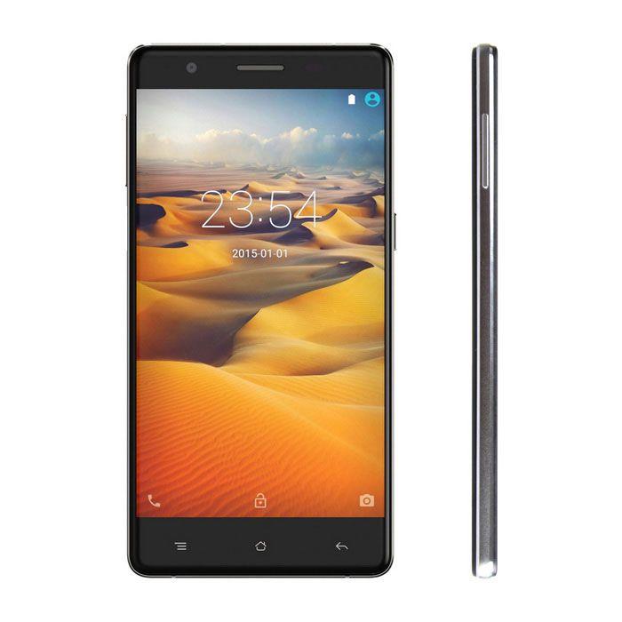 "CUBOT S500 Android 5.1 4G Phone w/ 5.0"" HD, 2GB RAM, 16GB ROM, Fingerprint Sensor - Black + Silver"