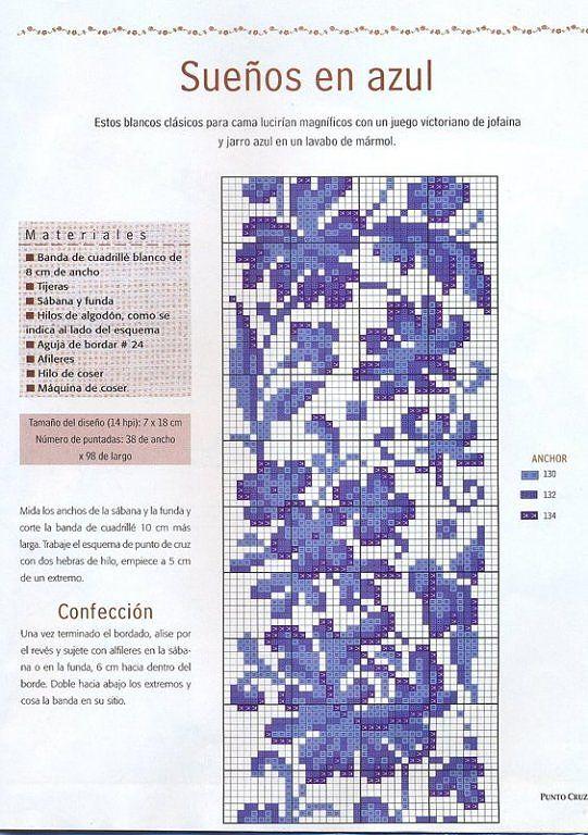 Solo Patrones Punto Cruz (pág. 101) | Aprender manualidades es facilisimo.com