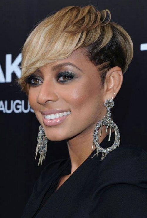 Keri Hilson Short Hairstyles | 10 Best Celebrity Short Haircuts | 2013 Short Haircut for Women