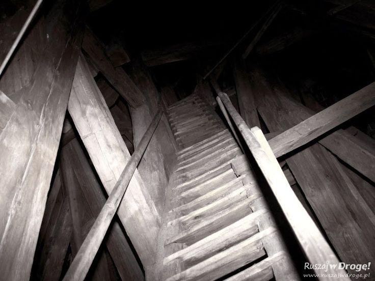 Poddasze Katedry Pelplin - Wejście na dzwonnicę, #Poland