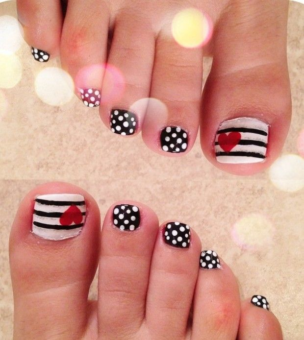 24 best Toe nail Designs images on Pinterest | Toe nail ...