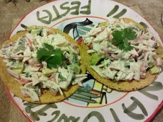 crab tostadas | Casa De Sousa | Pinterest