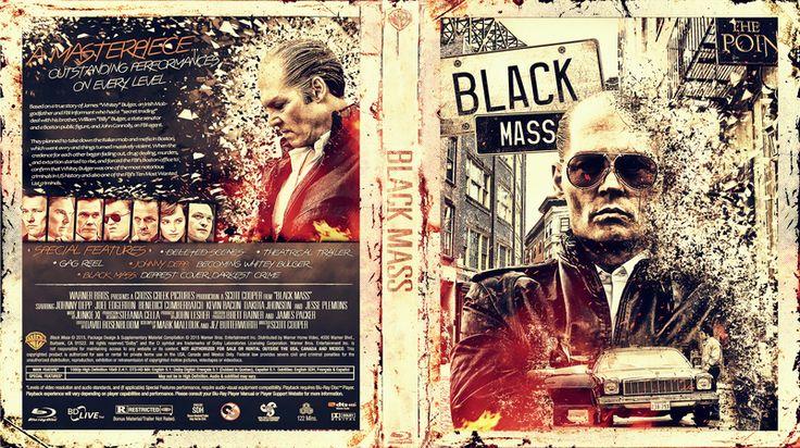 Black Mass Blu-ray Cover
