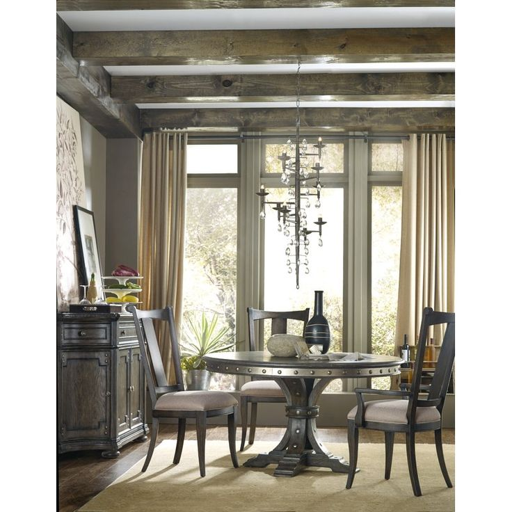 wayfair dining room chairs with arms tables and hooker furniture st table