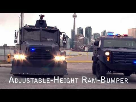 INKAS Riot Control Vehicle (Water Cannon) - YouTube