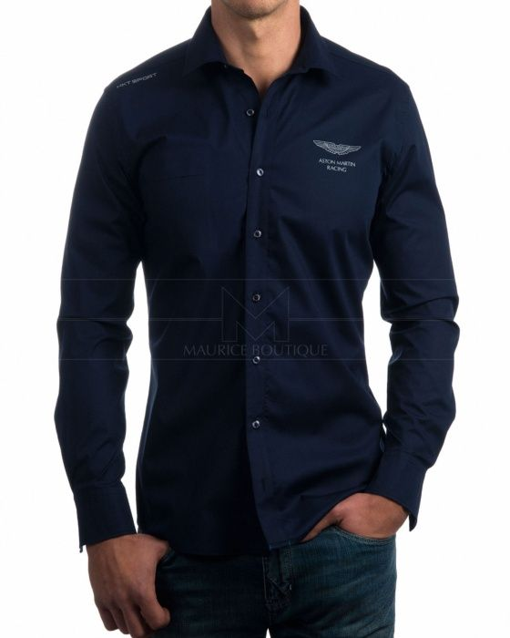 Camisas Hackett Aston Martin - Azul Marino