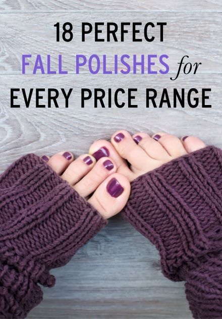 Find the perfect fall polish color for your style & budget