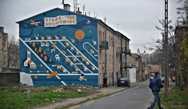 Na Bronowicach przy ul. Biłgorajskiej powstał nowy mural