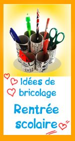 79 best bricolage pour la rentr e des classes images on - Decoration des classes pour la rentree scolaire ...