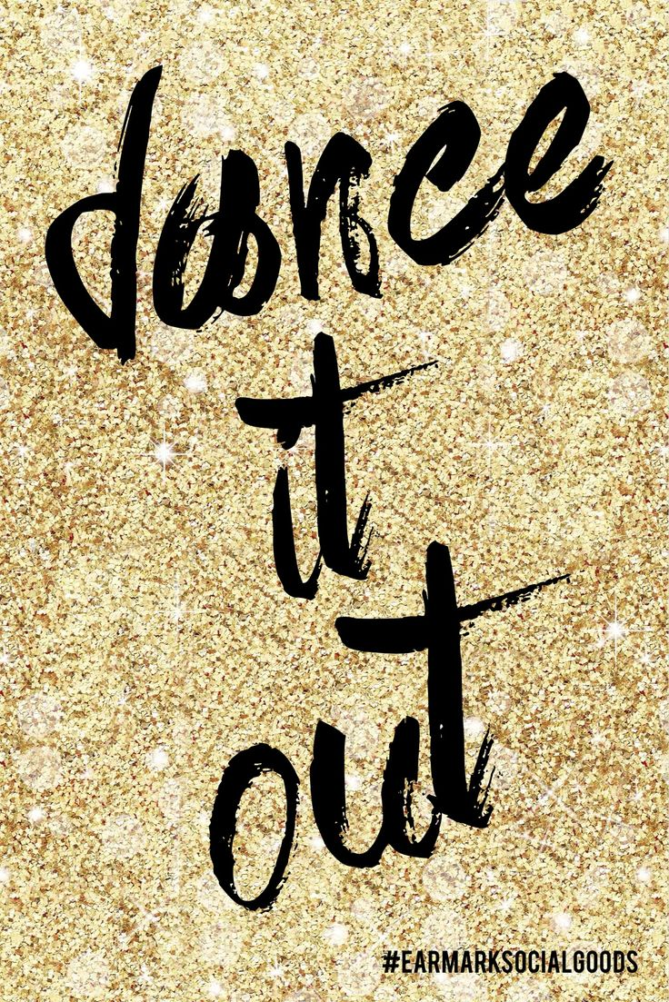 Dance it out! #wisewords #earmarksocialgoods