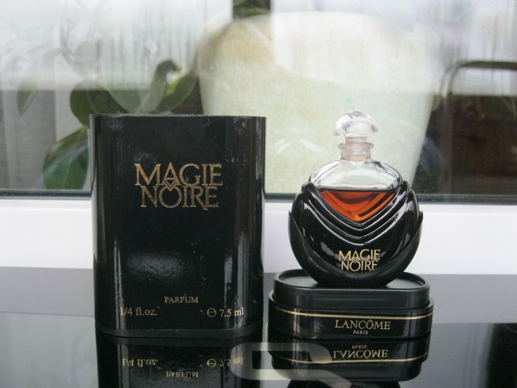 VINTAGE PARFUME MAGIE NOIRE LAMCOME PARIS 7.5 ML ORIGINAL FRANCE