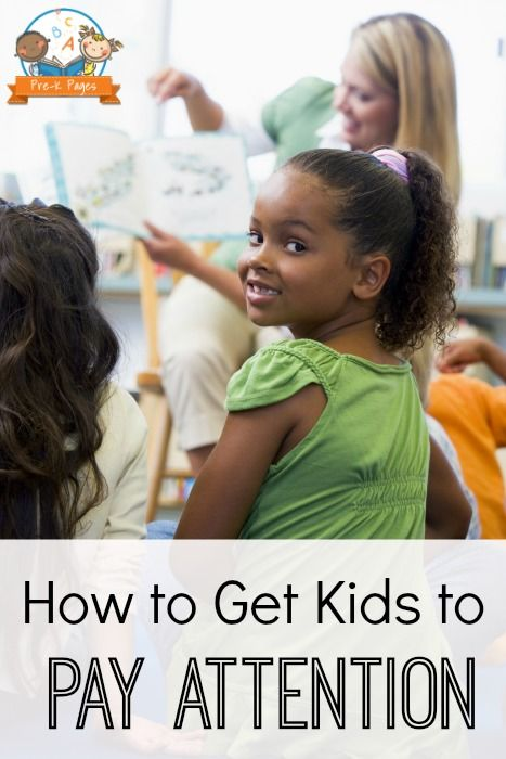 How to Get Kids to Pay Attention: Challenging Behaviors in the Classroom
