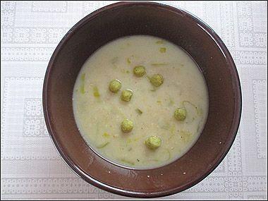 Dneska vařím já: Vločkovo-pórková polévka