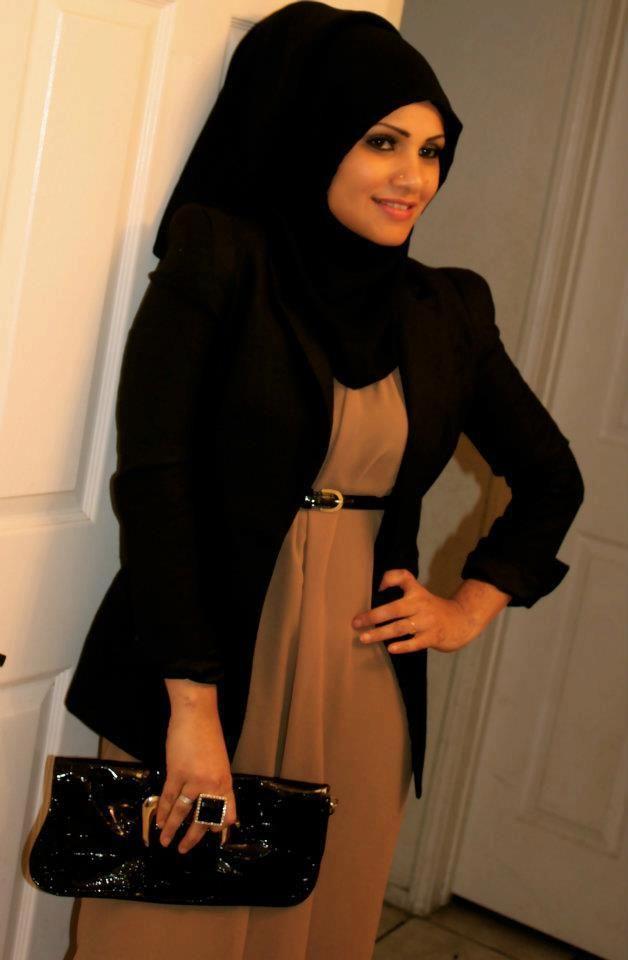Evening hijab