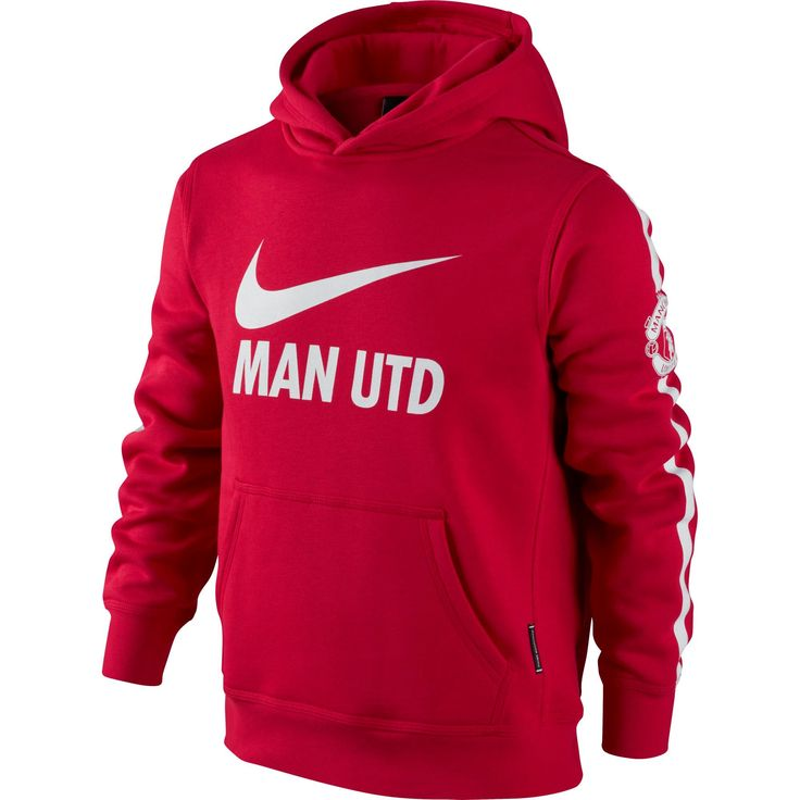 Manchester United Hoodie 2014 – 2015 (Red), part of the new training kit, now in at Soccer Box http://www.soccerbox.com/64014