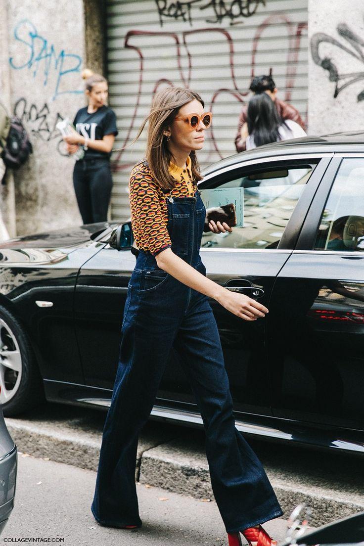 MFW-Milan_Fashion_Week-Spring_Summer_2016-Street_Style-Say_Cheese-Julia_Gall-Denim_Jumpsuit-1
