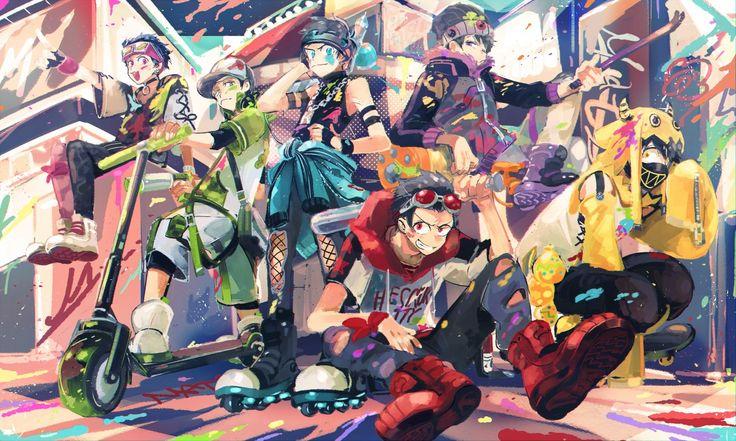 Color gang series >_<