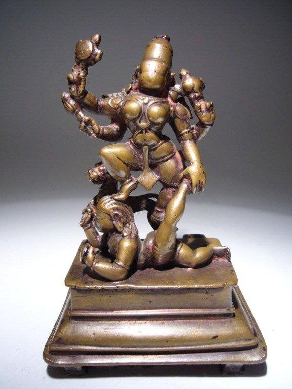 South Indian Bronze Vaishnavi 16th Century