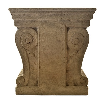 Fiber Cement Stool     was $109.99 now $54.99   SKU 115297   12 inches wide x 16 inches long x 16 inches high
