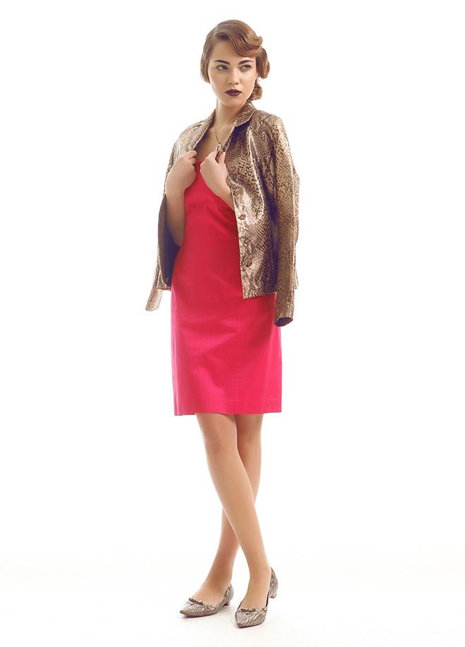 Ece Sükan Vintage Escada - elbise Markafoni'de 500,00 TL yerine 153,99 TL! Satın almak için: http://www.markafoni.com/product/3549670/