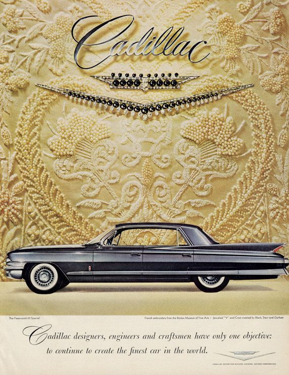 27 best Cadillac images on Pinterest | Car advertising, Vintage cars ...