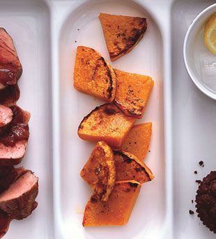Roasted Butternut Squash with Lime Juice