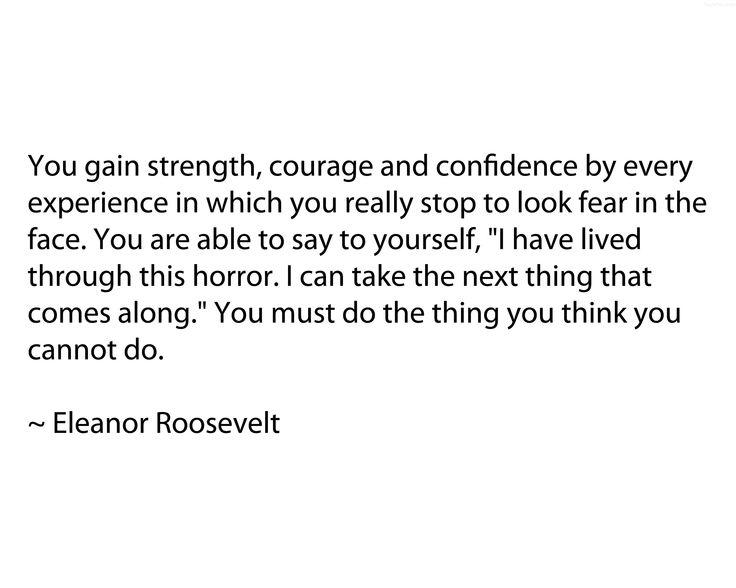 A description of eleanor roosevelt as a good role model