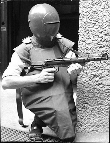 1970 Swedish tactical uniform. With sandal.