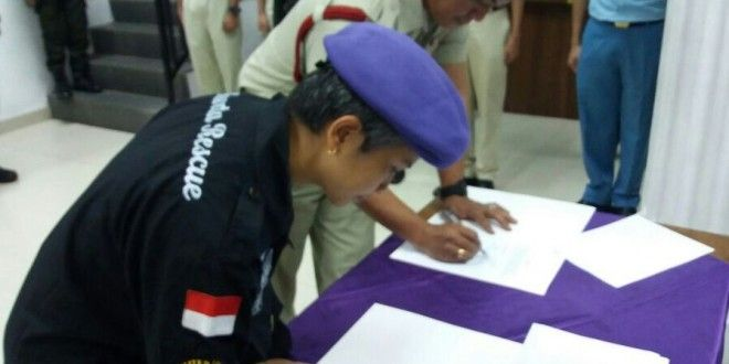 Tingkatkan Kemampuan Tanggap Bencana, Menwa Indonesia : Lakukan MoU dengan Jakarta Rescue