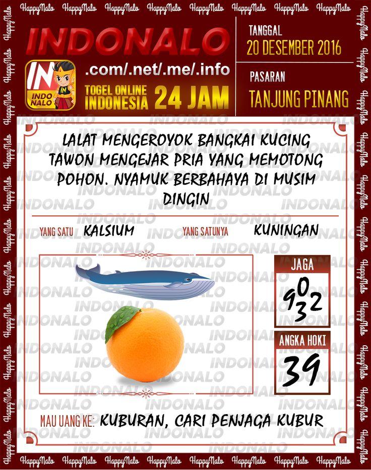 Undian Lotre 4D Togel Wap Online Live Draw 4D Indonalo Tanjung Pinang 20 Desember 2016