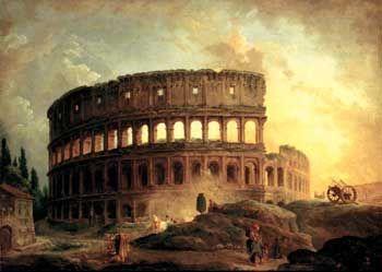 ⚜ Ruinas clásicas / Classical ruins: hubert robert