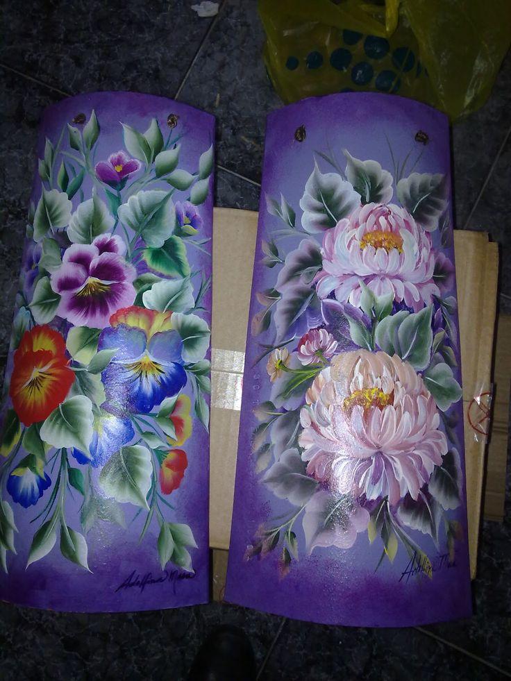 108 best tejas pintadas images on pinterest teja tejas for Pintura para tejas