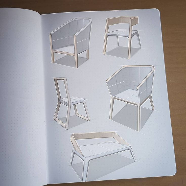 97 best furniture sketches images on pinterest chair for Furniture design sketches
