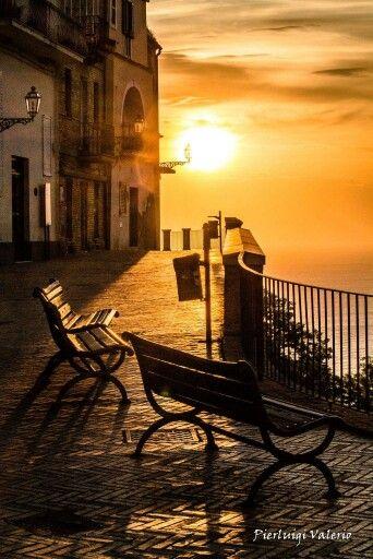 Vasto, Sunset