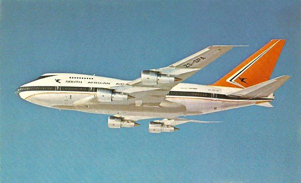 Vintage Airliners - gorgeous SAL 747SP