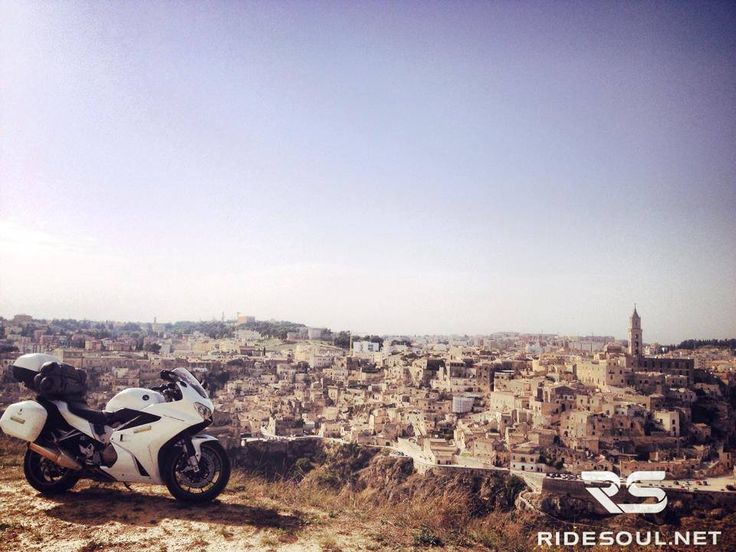 The view of Matera! the most famous city of Basilicata! #motorcycle #tour #italy