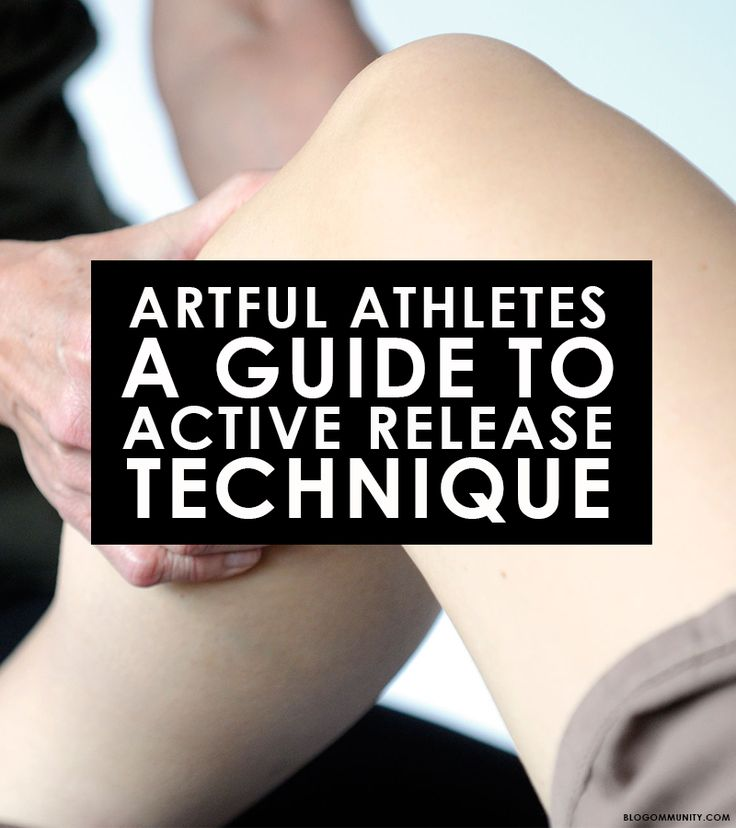 I've recently discovered a brand of therapy that was very helpful in the start of my new beloved sport of running called Active Release Technique (ART). ART w