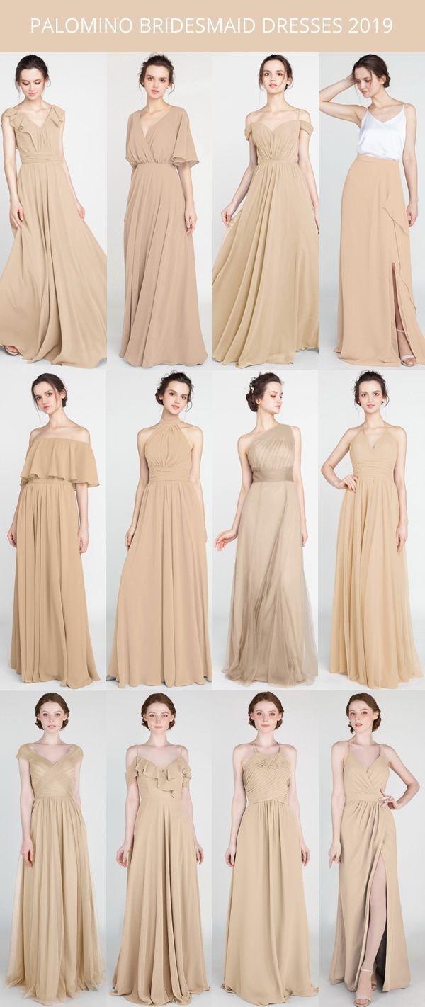 Long Short Bridesmaid Dresses 80 149 Size 2 30 And 50 Colors In 2020 Beige Bridesmaids Short Bridesmaid Dresses Neutral Bridesmaid Dresses