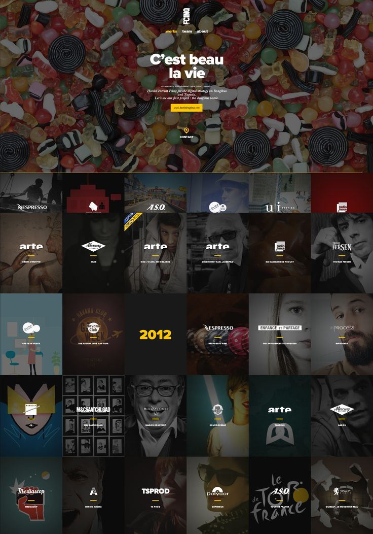 FCINQ, 2 September 2013. http://www.awwwards.com/web-design-awards/fcinq   #WebInteractive #Clean #jQuery #ResponsiveDesign #CSS3 #Portfolio #Scroll