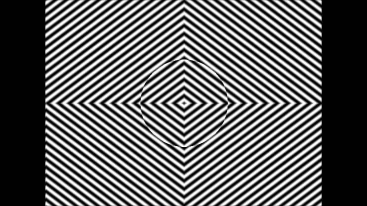 Creepy Distortion Optical Illusion