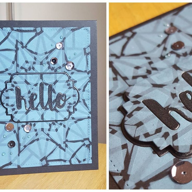 Played some more with dark cardstock  using #distressoxide with stencils from #altenewlcc