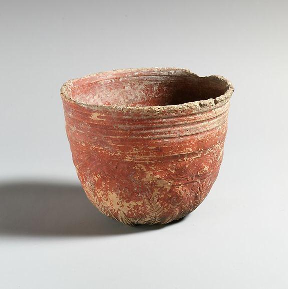 Terracotta Megarian bowl | Greek, Pergamene | Late Hellenistic | The Metropolitan Museum of Art