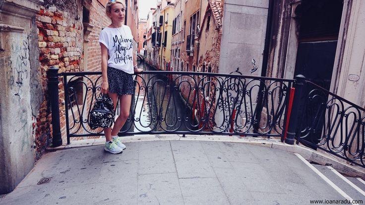 Ioana Radu - OOTD outfit lejer de vacanta - Venezia Italia